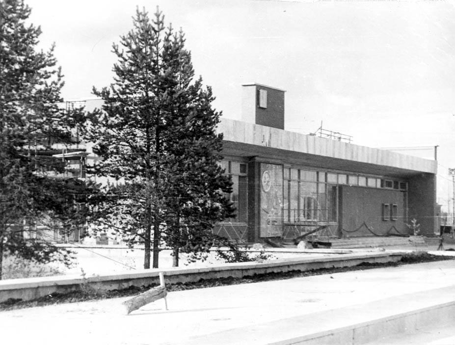 Новый железнодорожный вокзал