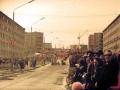Нивский проспект, демонстрация